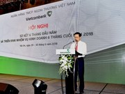 Vietcombank's pre-tax profit up 52 percent in six months