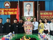 Hoa Hao followers celebrate the sect's 79th founding anniversary