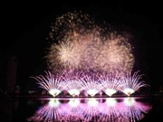 Italy wins Da Nang international fireworks festival