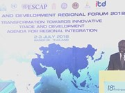 Trade and Development Regional Forum 2018 takes place in Bangkok