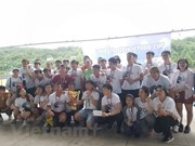 Vietnamese students in RoK organise football tournament