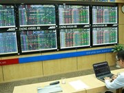 Indices fall on week's first trading day