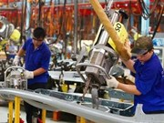 Industrial production up 10.5 percent in six months