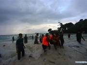 At least 29 dead as boat capsizes in Indonesia