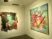 Artworks of Vietnamese, Korean artists showcased
