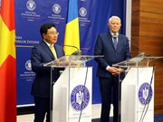 Deputy Prime Minister Pham Binh Minh visits Romania