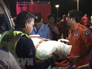 Helicopters, divers deployed to search for capsized Thai boat victims