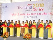 Mini Thailand Week 2018 opens in Can Tho