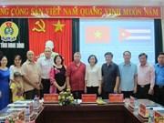 Cuban Workers' Federation delegation visits Ninh Binh