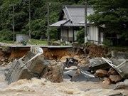Condolences to Japan over losses caused by floods
