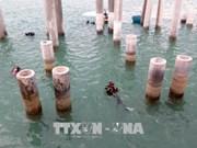 Dung Quat ancient shipwreck excavated