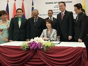 ASEAN capitals sign declaration on sustainable environment