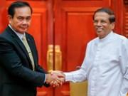 Thailand, Sri Lanka eye 1.5 billion USD in trade by 2020