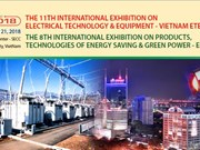 Electrical technology & equipment exhibition to kick off in HCM City
