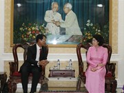HCM City, Lao provincial front officials share experience