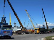 Over 254 million tonnes of cargo handled via ports in H1