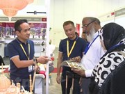 Vietnamese products on show at Singapore Gifts & Premiums Fair