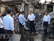 Vietnamese victims of Phnom Penh fire receive support