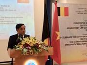 Exchange celebrates 45 years of Vietnam-Belgium relations