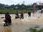 Downpours, flooding wreak havoc in northern localities
