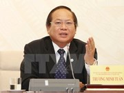 Minister of Information-Communication Truong Minh Tuan suspended