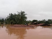 Vietnam expresses sympathy with Laos over losses in dam collapse