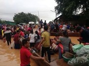 Hundreds missing after hydropower dam collapses in southeast Laos