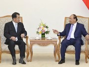 PM meets head of Japan-Mekong Parliamentary Friendship Association