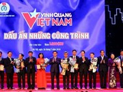 Eight outstanding works honoured at Vietnam Glory