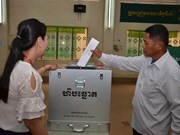 Cambodians cast ballots in general election