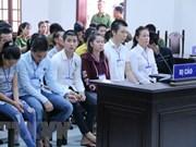 Dong Nai: 20 sentenced for disturbing public order