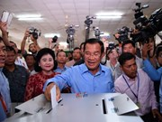 Cambodia: CPP says it wins 114 seats in new parliament