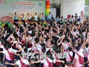 Summer camp for children of Vietnam, Laos, Cambodia opens