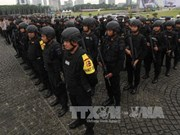 Anti-terrorism drill in Indonesia ahead of ASIAD 2018