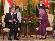 Singapore, China pledge to strengthen bilateral cooperation