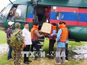 Defence ministry supports Laos to recover from dam collapse