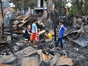 Vietnamese expats stabilise lives after fire in Cambodia