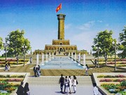Hanoi speeds up construction of symbolic flagpole in Ca Mau Cape
