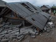 Indonesia accelerates rescue work for quake victims