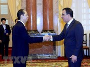 President receives new foreign ambassadors
