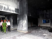 Man prosecuted for involvement in Carina Plaza fire