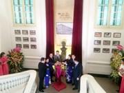 Hospital inaugurates Marie Curie statue