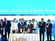 Vinfast, Siemens sign deals for electric bus manufacturing