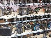 Vietnam stops importing bitcoin mining machines
