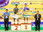 Vietnam Open Badminton Champs wraps up
