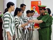 Hanoi releases 34 prisoners ahead of schedule