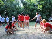 Summer camp of Vietnamese youth in Europe opens in Hungary