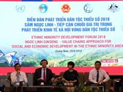 Deputy PM asked for sustainable development in ethnic minority areas