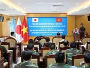 Vietnamese, Japanese sappers share peacekeeping experience