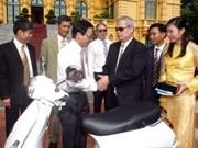 Blind Association receives Presidential gift